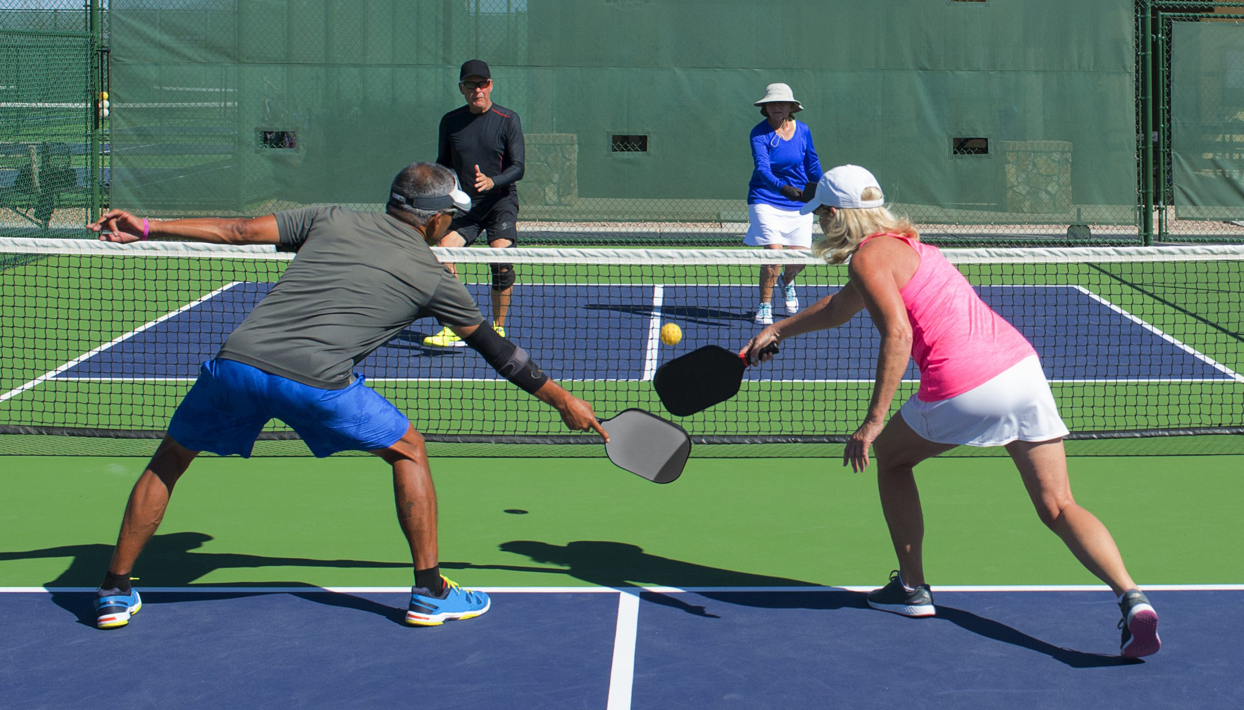 How To Participate in Pickleball